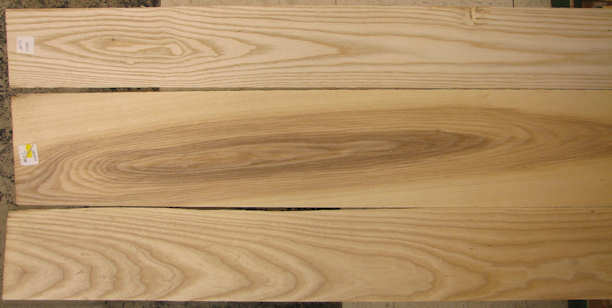 White Ash Wood Grain ~ White ash