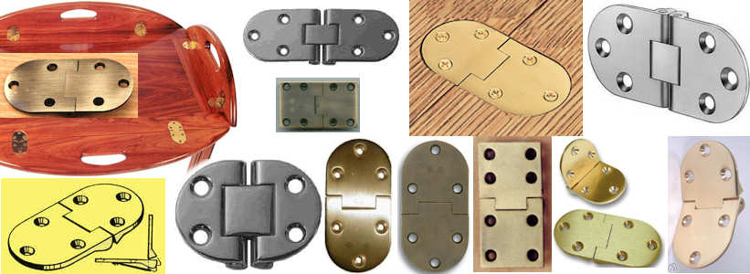 Often The Flaps Have Cutouts That Act As Handles. These Are Very Similar In  Style To Counterflap Hinges But They Often Do Not Have The Floating Knuckle.