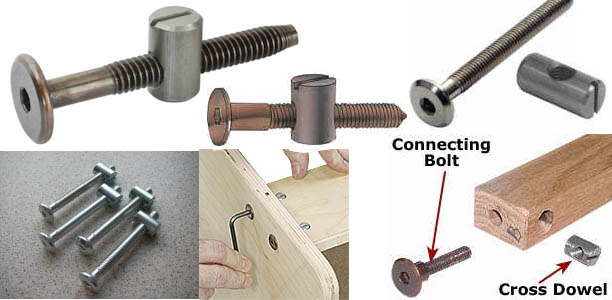 """What is the equivalent of """"knockdown screw"""" in UK 