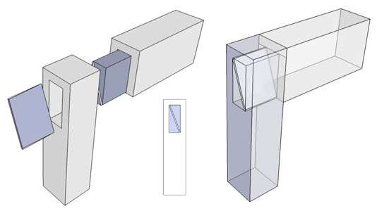 ided mortise and tenon --- A mortise and tenon joint technique for use when the tenons from two rails both have to go into the same mortise.  sc 1 st  HobbitHouseInc.com & Hobbit House Glossary