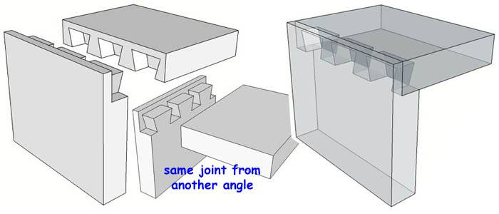 Blind Dado Joint