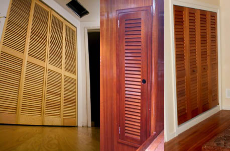 Timber Slat Doors & House Loader Street Cape Town Iroko Sliding ...